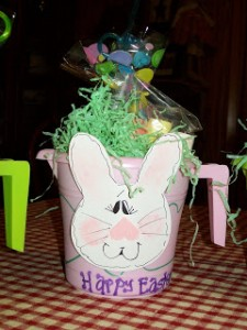 Easter Bucket Party Favors for Toddlers Class