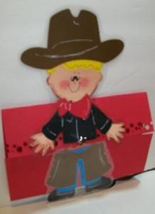 Cowboy Birthday Invitations using PDDU