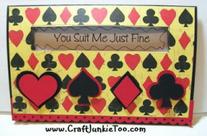 You Suit Me Just Fine Card for My Honey