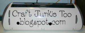 Decorating Cricut Expression with Vinyl
