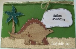 Dinosaur Father's Day Card and Video #99
