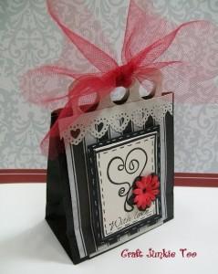 Elegant Valentine Goodie Bag
