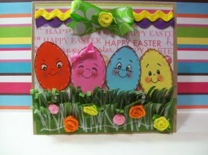 Eggs-stra Special Easter Egg Family Card