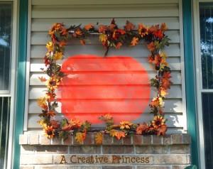 Pumpkin Screen Decor with Guest Blogger {A Creative Princess}
