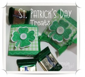 St. Patrick's Day Ghirardelli Treats