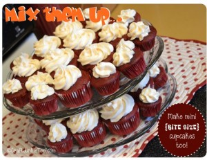 Cupcakes {Mix them up} – Bite Size Too!
