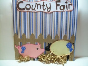 Video #32 – Fun at the County Fair Scrapbook Layout