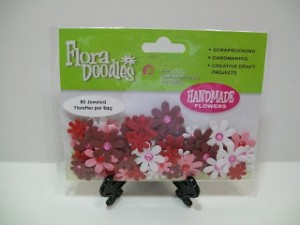 Birthday Bash Prize Drawing ~ Handmade Scrapbooking Flowers