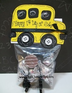 ♥ 1st Day of School Treat Bags & Video #114 ♥