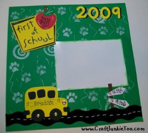 ♥Sweet Repeat♥ – 1st Day of School Lay-out