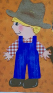 Layering Farmer from Everyday Paper Dolls