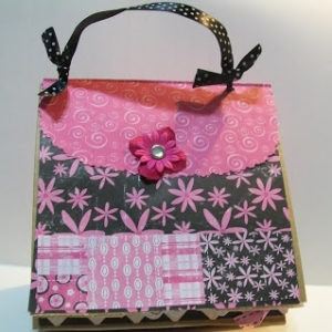 Paper Bag Scrapbook Purse & Video #60