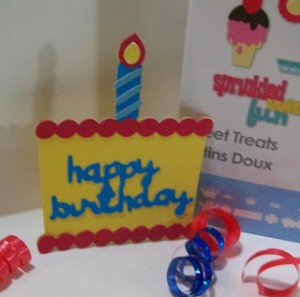 ~ Video #69 & #70 – Basic Layering with Sweet Treats Birthday Cake