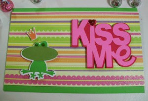 Video #75 ~ Kiss Me! Frog Prince Card