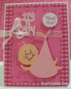 Think Pink! Baby Card and Video #96
