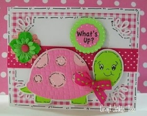 ♥ What's Up! Turtle Card & Video #97 ♥