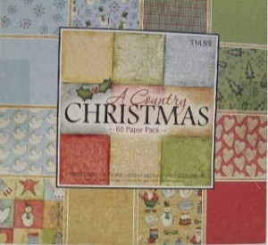 A Country Christmas Paper Stack used in Video #57