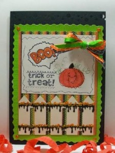 Boo! Trick or Treat Card & Video #35