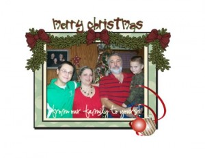 Merry Christmas from Craft Junkie Too's family!