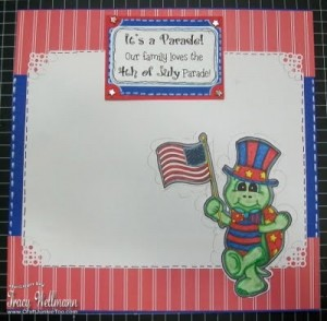 4th of July Parade Scrapbook Page & Video #168