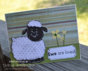 Ewe are Loved Card
