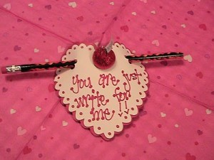 "Video #73 ~ Just ""Write"" for Me Valentine Treat"