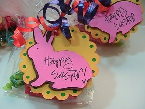 ♥Simple Easter Goodie Tags for Treat Bags♥