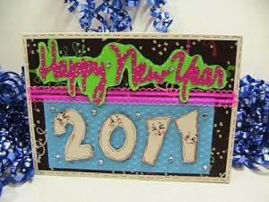 Happy New Year 2011 Card ~ #141