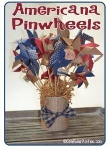 {Americana} Pinwheels