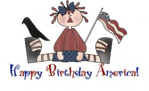 Happy Birthday America Freebie!