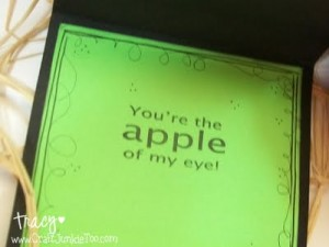 *Apple of my Eye* Card