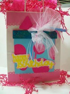 Birthday Bash Project ~ Birthday Gift Bag Project