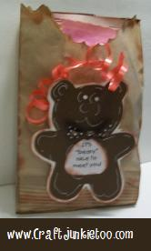 "It's ""Beary"" Nice to Meet You Treat Goodie Bags"