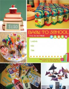 {Back to School} ~ Throw a Party!