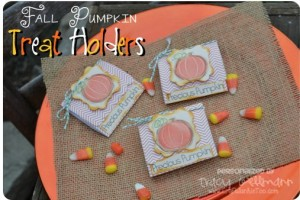 {Fall Pumpkin} Treat Holders