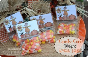 {Candy Corn Poem} Treats