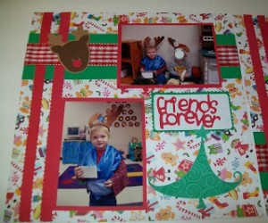 Preschool Christmas Lay-out