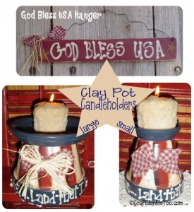 {Primitive Country Americana Home Decor}