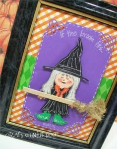 Witchy Frame Decor