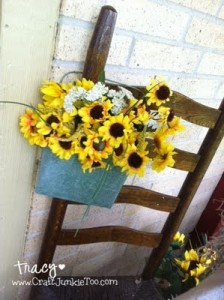 My Summertime Sunflower Porch!
