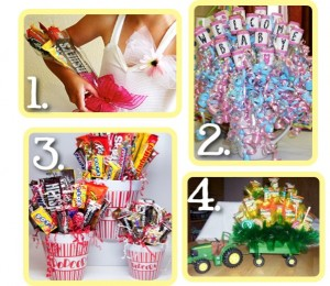 {Candy Bouquets} – Great Gift Ideas!