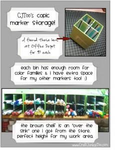 CJToo's Copic Marker Storage