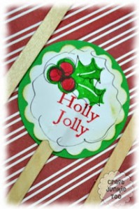 I'm Back, Reflection & {Holly Jolly Cupcake Toppers}