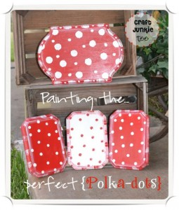 Painting the Perfect {Polka-Dots} Tutorial