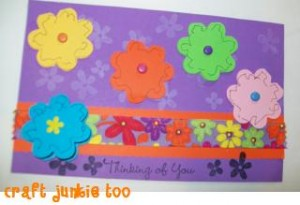 Flower Messages Card