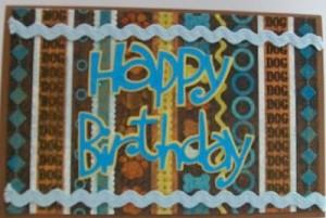 Simple Happy Birthday Card & Video #39