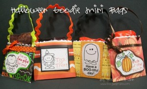 {Mini Halloween Goodie Bags} ~ Pockets Made from Envelopes