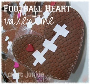 {Football} Heart Valentine