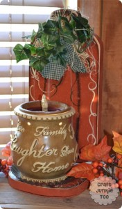 [Wood Pumpkin Candle Holder] with Free Pattern