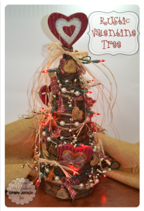 Rustic Valentine Tree